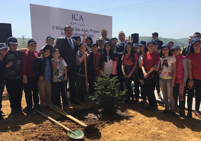 ICA 3,7 milyon ağaç ve bitkiyi İstanbul'un doğasına kazandırdı!