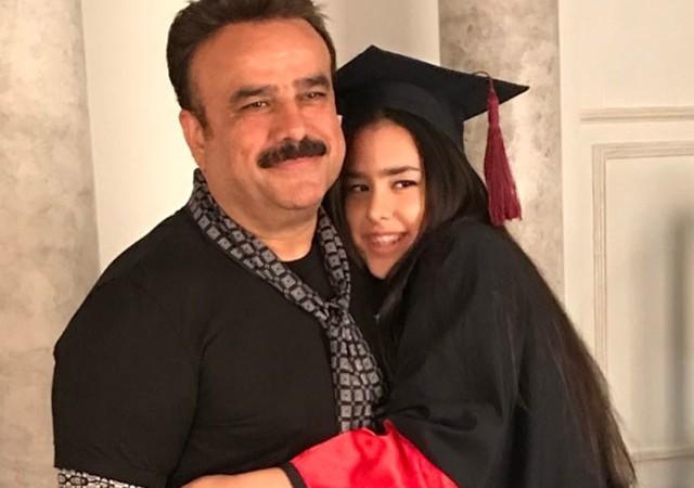 Bülent Serttaş'ın kızı mezun oldu