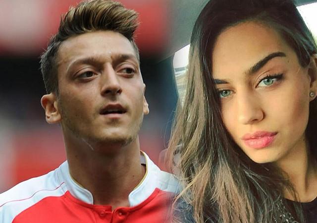 'Amine Gülşe, Mesut Özil'i terk etti' iddiası!