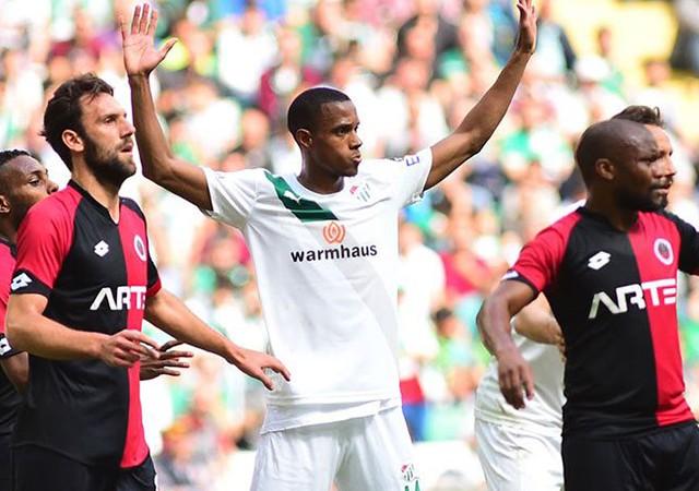 Bursaspor 1-2 Gençlerbirliği / Maç özeti