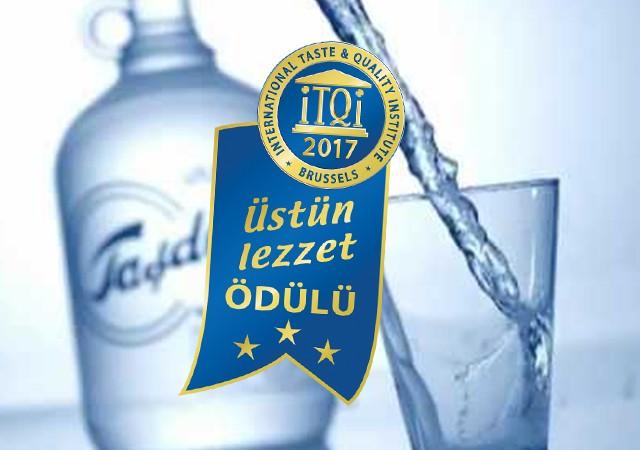 Vakıf Taşdelen Su'ya büyük ödül!
