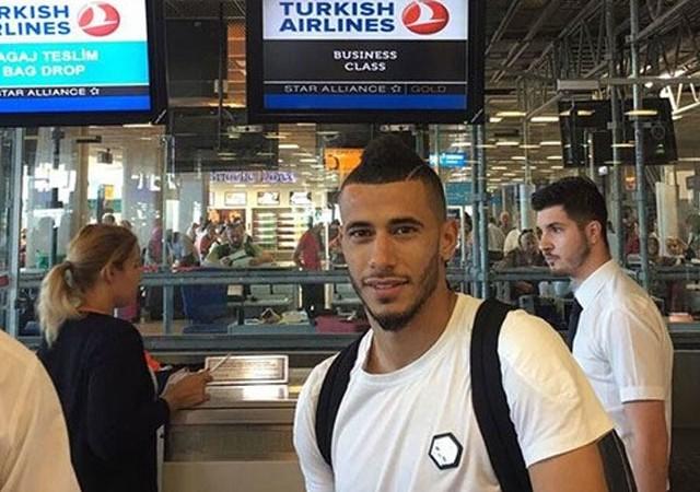 Galatasaray'ın yeni yıldızı yola çıktı! Havaalanından fotoğraf...