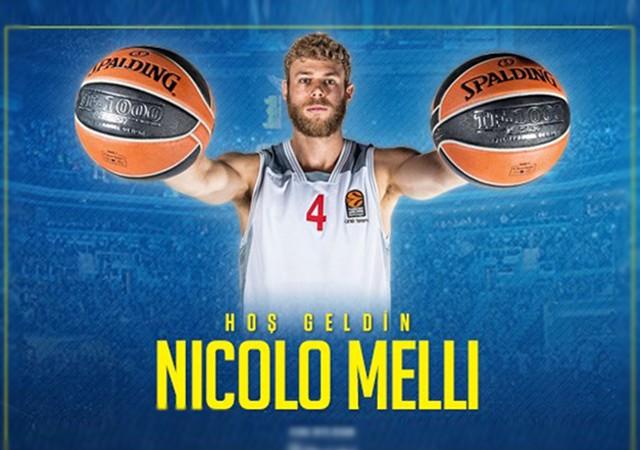 Nicolo Melli Fenerbahçe ile sözleşme imzaladı
