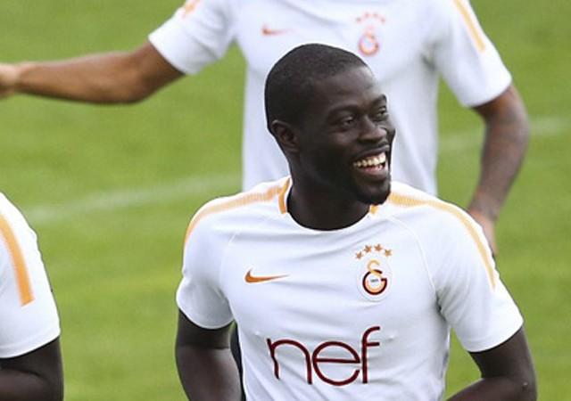 Ndiaye Galatasaray'da ilk idmanına çıktı!