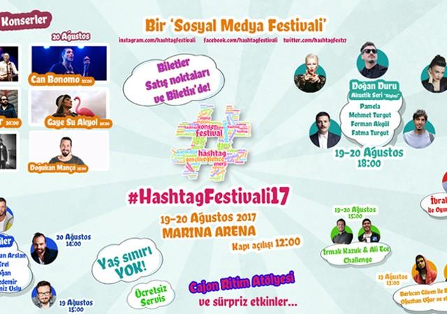 Sosyal medyadaki her şey bu festivalde!