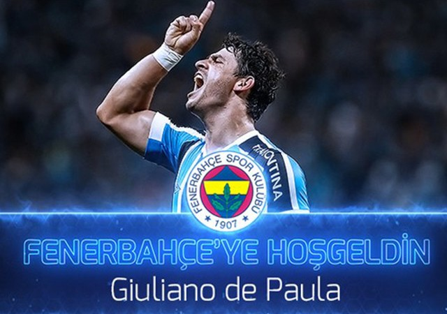 Fenerbahçe resmen açıkladı! Giuliano ile sözleşme imzalandı...