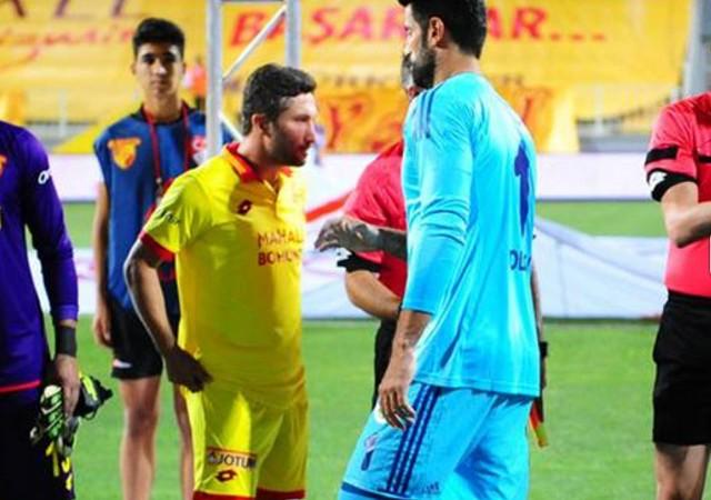 Sabri ve Volkan yine tokalaşmadı!