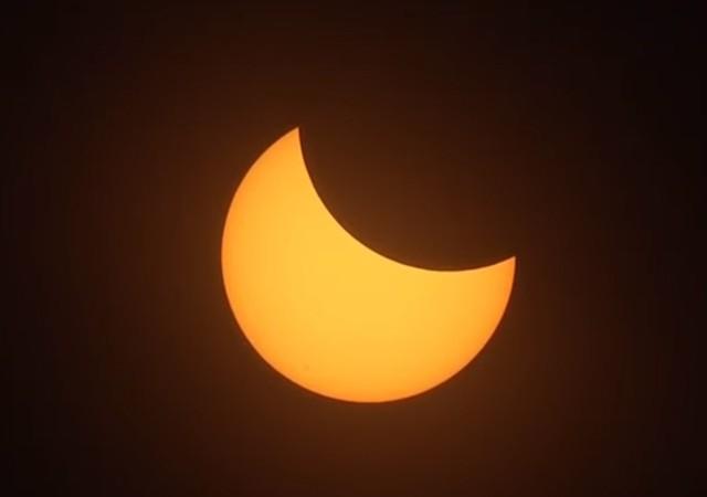 ABD'de tarihi güneş tutulması!