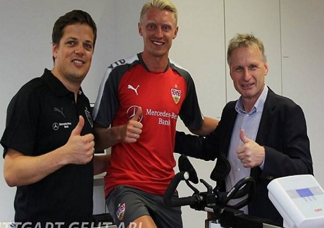 Andreas Beck resmen Stuttgart'ta