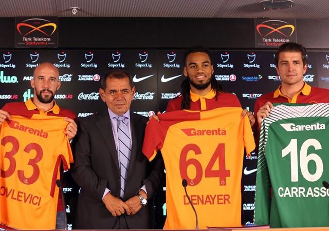 Galatasaray yeni transferleri tanıttı! Başkan Özbek müjde verdi...