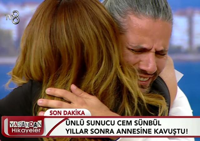 Ünlü sunucu Cem Sünbül 42 yıl sonra annesine kavuştu!