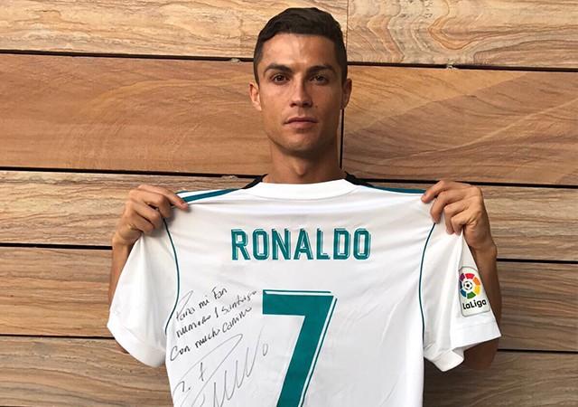 Ronaldo'dan anlamlı paylaşım!