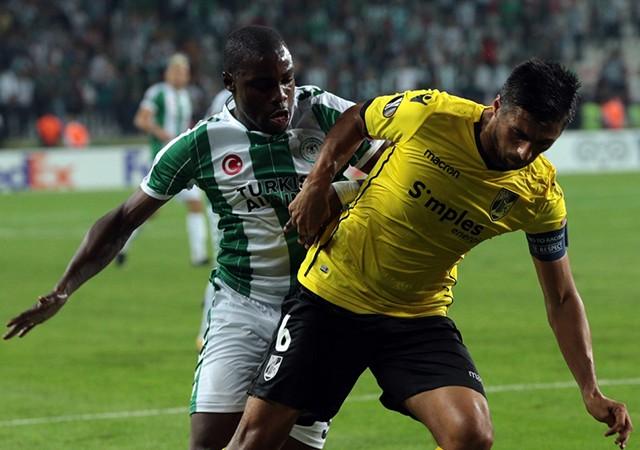 Konyaspor-Vitoria Guimaraes maç sonucu: 2-1