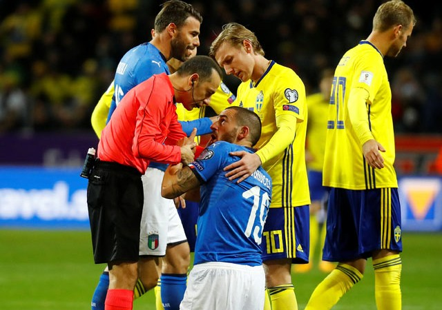 Bonucci'den Cüneyt Çakır tepkisi! 'Kırmızı kart göstermeliydi'