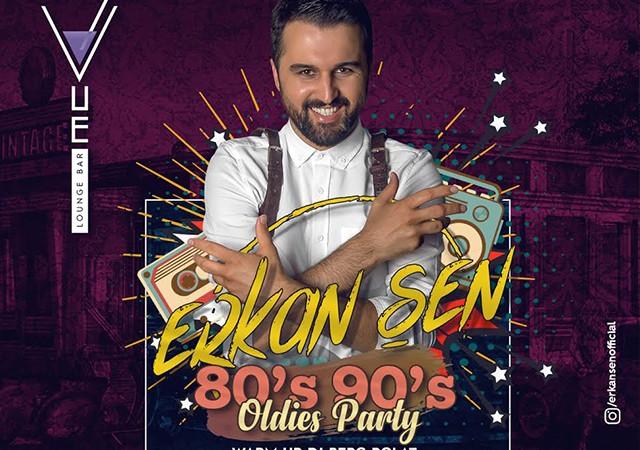 Erkan Şen ile 80'ler 90'lar partisi!