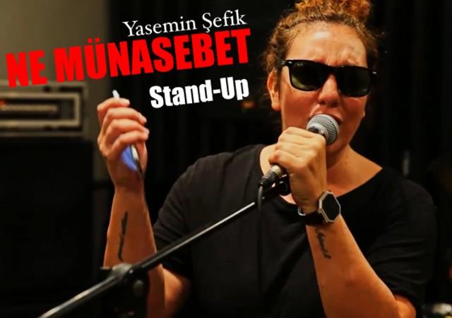 """Yasemin Şefik'in yeni gösterisi """"Ne Münasebet"""" BKM'de görücüye çıkıyor!"""