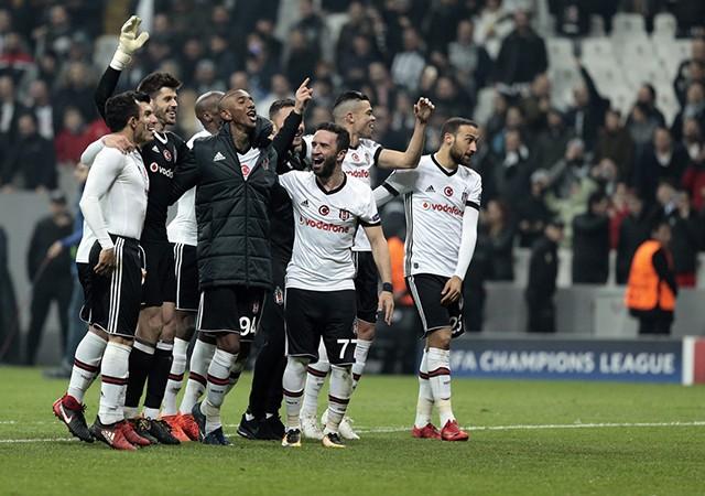 Türk futbolunun gurur gecesi! Beşiktaş garantiledi...