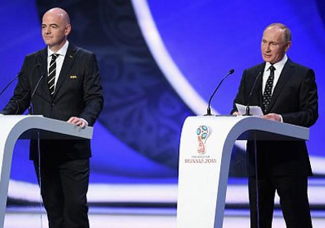2018 FIFA Dünya Kupası kuraları çekildi!