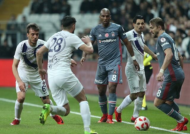 Beşiktaş sahasında avantajı kaptı!