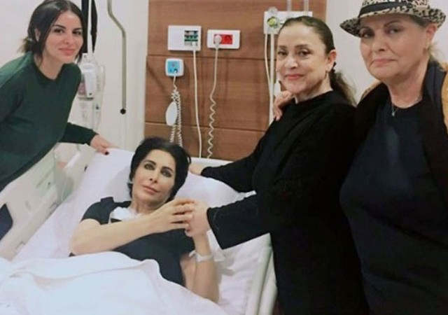 Nuray Hafiftaş'a hastanede sürpriz ziyaret
