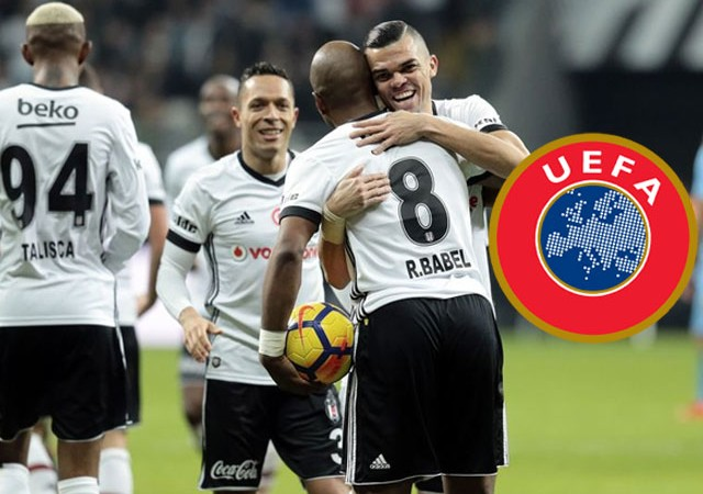 UEFA'dan Beşiktaş paylaşımı!