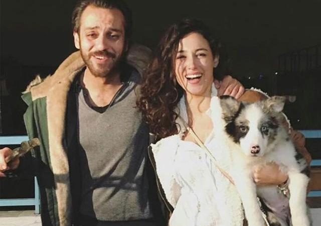 Erkan Kolçak Köstendil'e sevgilisinden doğum günü sürprizi