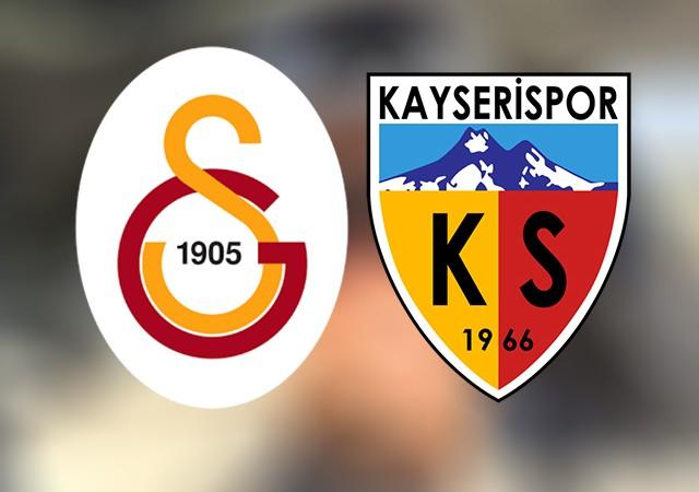 Galatasaray'dan Kayserispor'a son gol göndermesi!