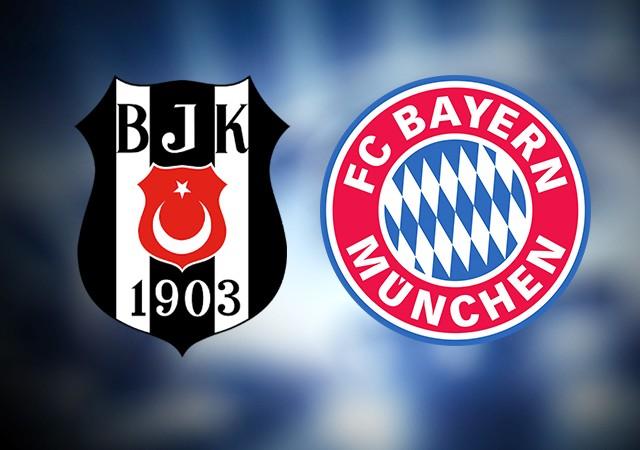 Bayern Münih'in Beşiktaş kadrosu belli oldu