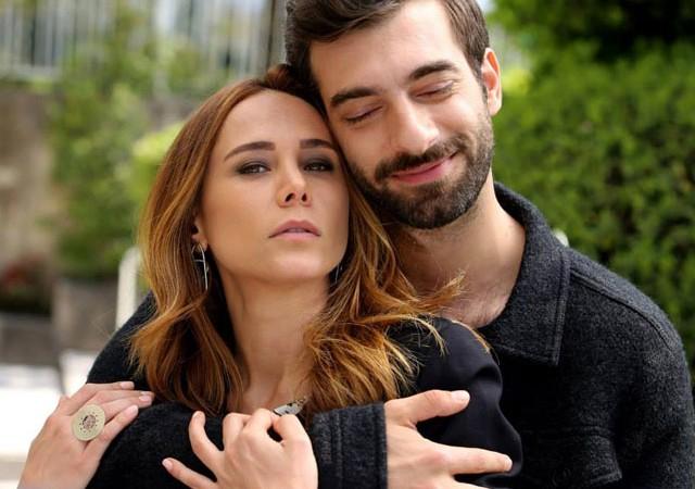 Burçin Terzioğlu'ndan İlker Kaleli'ye romantik mesaj