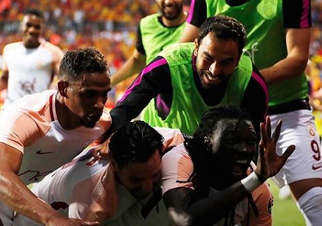 Süper Lig'in şampiyonu Galatasaray!