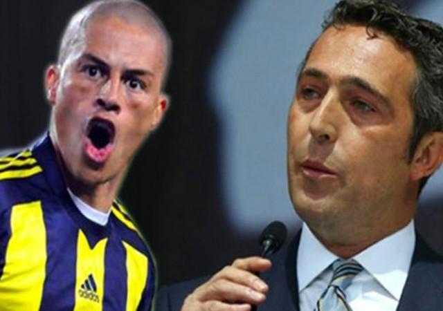 Alex de Souza, Ali Koç'a başarılar diledi!