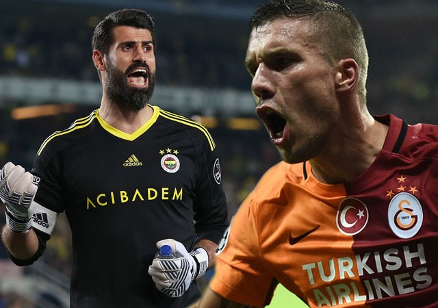 Podolski'den F.Bahçe taraftarını kızdıran paylaşım!