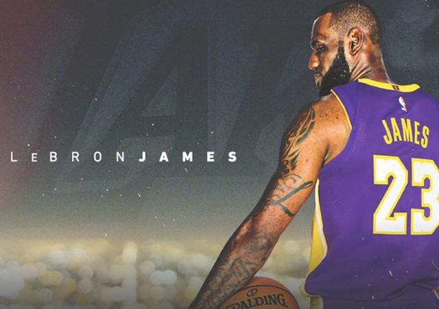 Dev transfer açıklandı! LeBron James Los Angeles Lakers'ta!