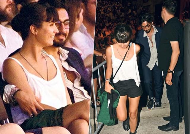 Aşkları doludizgin sürüyor! El ele konsere gittiler...