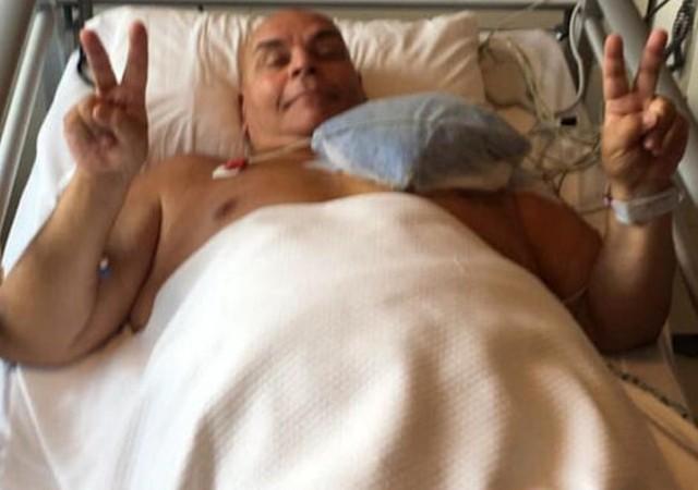 Ünlü oyuncu Rasim Öztekin ameliyat oldu