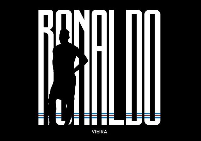 Sampdoria Ronaldo'yu duyurdu! Juventus'a gönderme yaptılar!