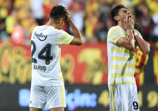 Fenerbahçe İzmir'den eli boş döndü