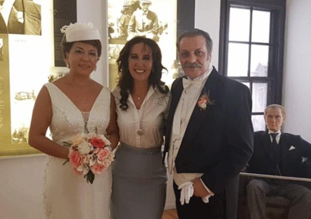 Atatürk'ün evinde evlendiler