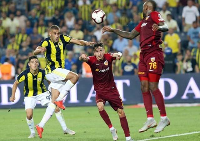 Fenerbahçe'ye Kadıköy'de soğuk duş!
