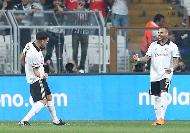 Beşiktaş evinde zor da olsa kazandı!