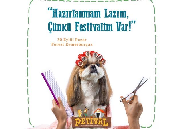 Hayvan ve Yaşam  Festivali 'PETİVAL' 30 Eylül'de Kemerburgaz'da!
