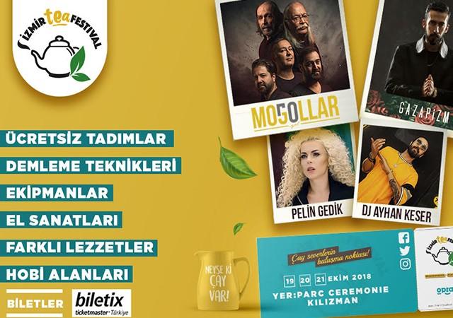 İzmir Tea Fest ekimde başlıyor!