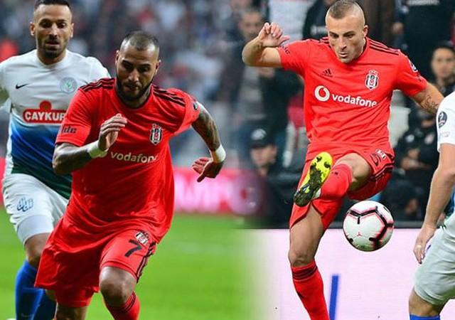 Beşiktaş'a çifte şok! Quaresma ve Gökhan Töre...