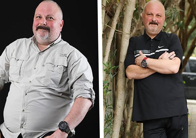 Ferhat Yılmaz 3 ayda 50 kilo verdi!