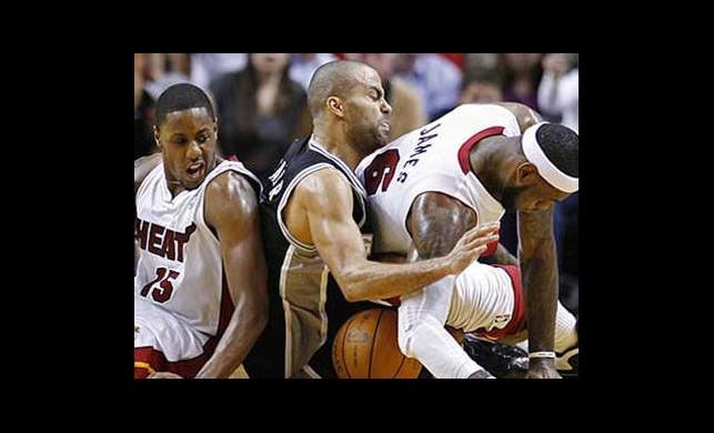 Spurs, Miami Heat, Maçlarını Kazarak 2-1 Öne Geçti