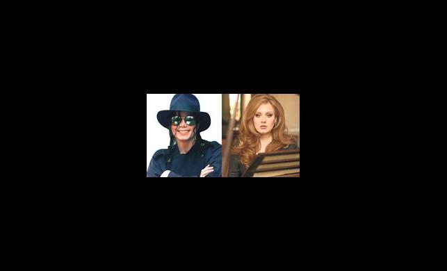 Adele, Michael Jackson'ı Solladı