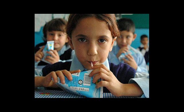 Öğrencilere Süt Müjdesi