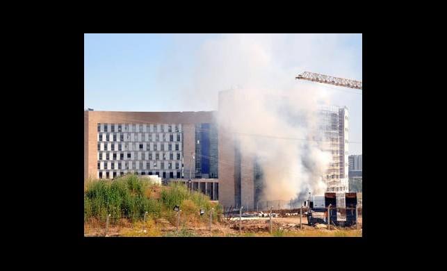 Üniversitede Yangın