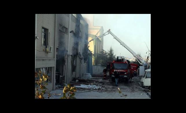 Kahramanmaraş'ta Patlama