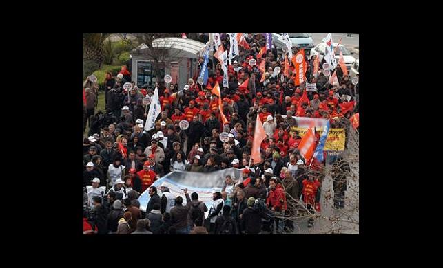 Ankara'daki Torba Yasa Protestosuna Dava